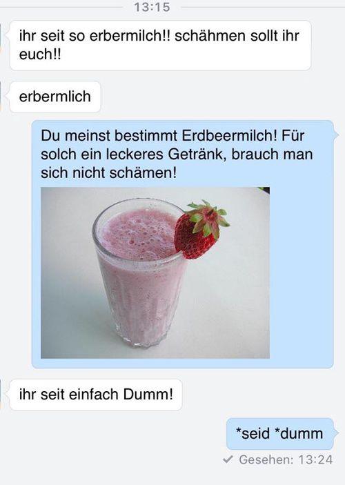 erdbeermilch