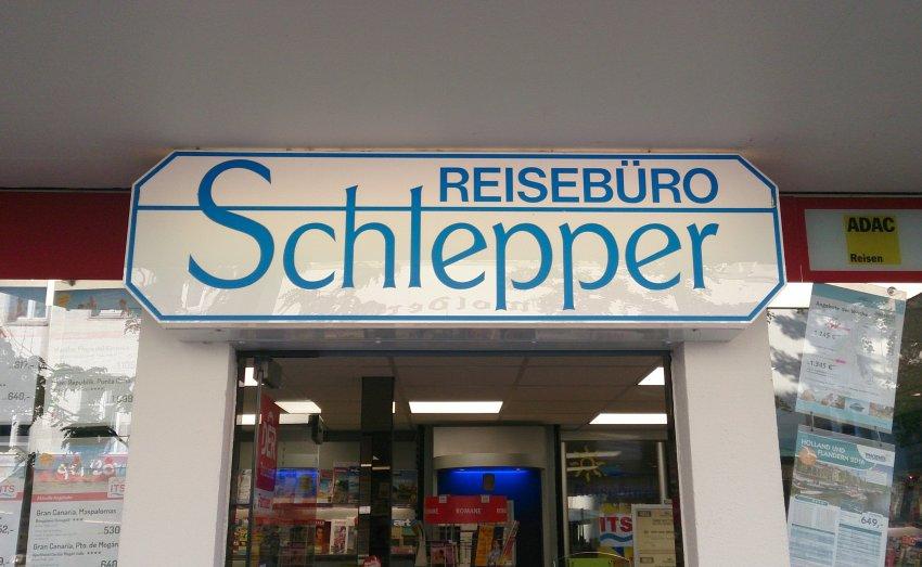 Schild/ Schlepper