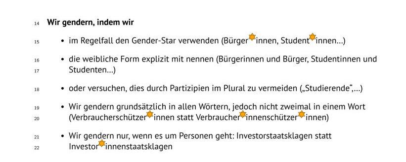 genderregeln