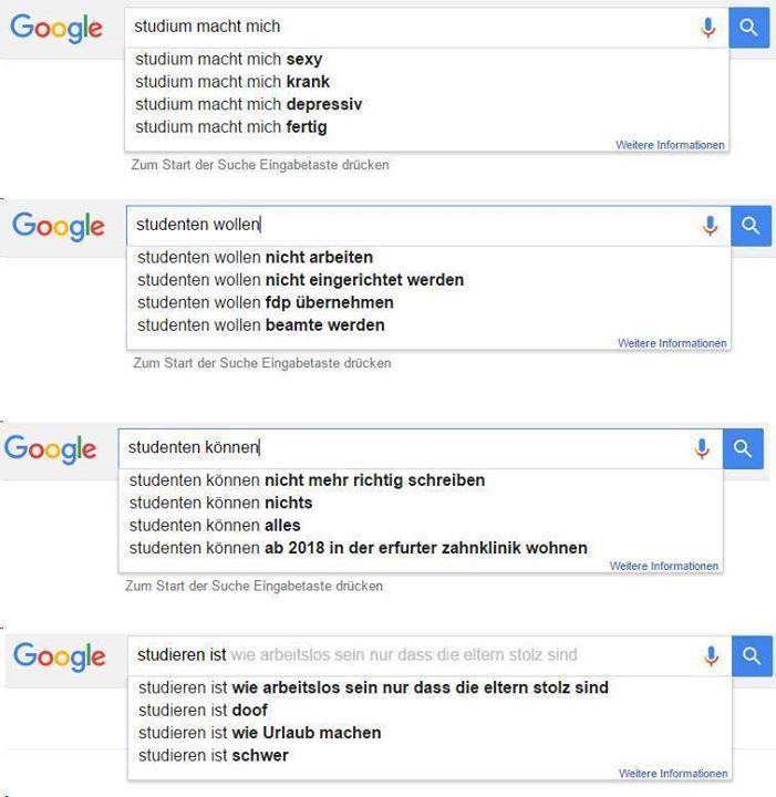 studenten und google