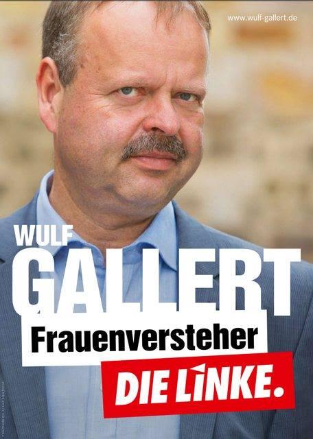 Linkes Wahlplakat