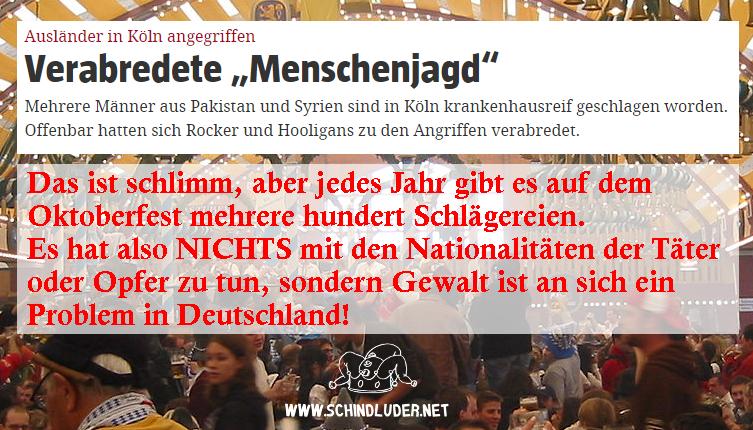 gewalt in deutschland oktoberfest