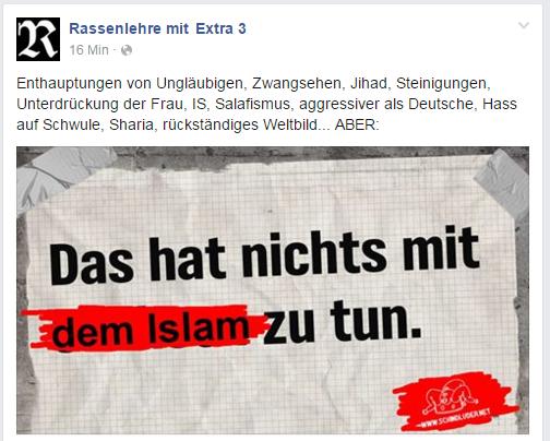 extra 3 nichts islam2