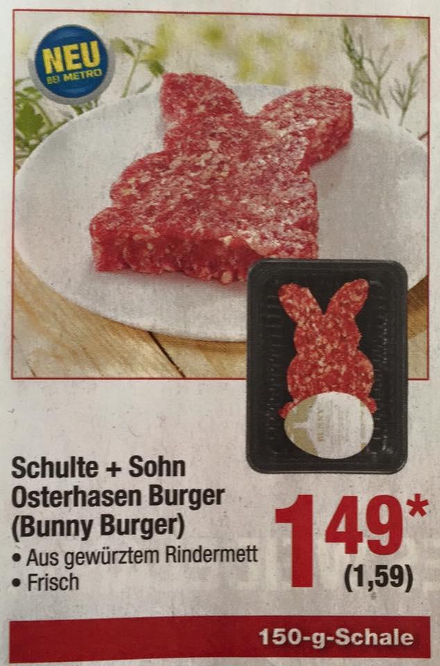 Osterhasen Burger