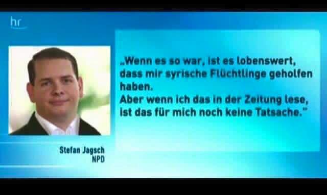 npd flüchtling