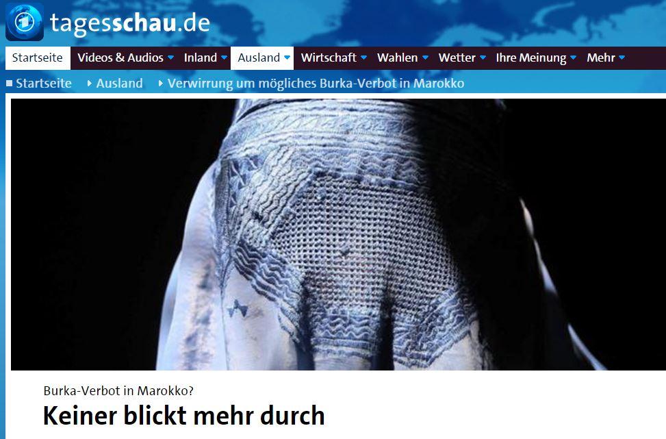 tagesschau burka